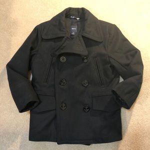 GAP Navy Boys Pea Coat